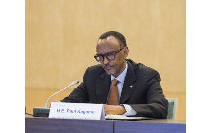 Le président Paul Kagame apprécie l'importance de Global Fund au Rwanda