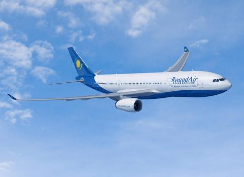 RwandaAir vient d'inaugurer sa nouvelle ligne direct Kigali – Londres trois fois par semaineee