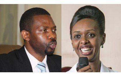 Diane Rwigara na Mpayimana bashyizwe mu majwi mu bashaka imikono ya kandidatire binyuranyije n'amategeko