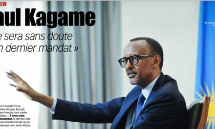 Perezida Kagame yaciye amarenga ko yongeye gutorwa ishobora kuba manda ye ya nyuma