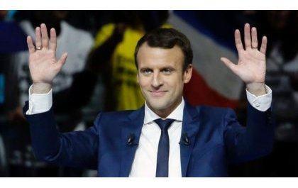 France : Emmanuel Macron yatsindiye kuba Perezida w'u Bufaransa
