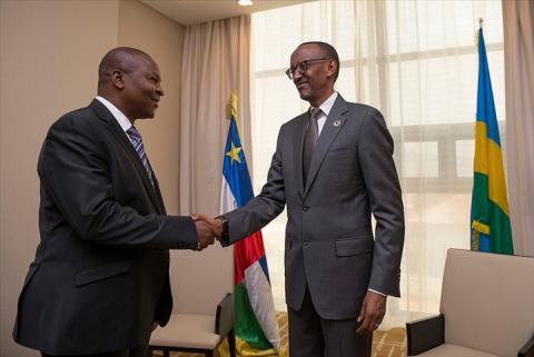 La RCA et le Rwanda signent un accord-cadre de coopération