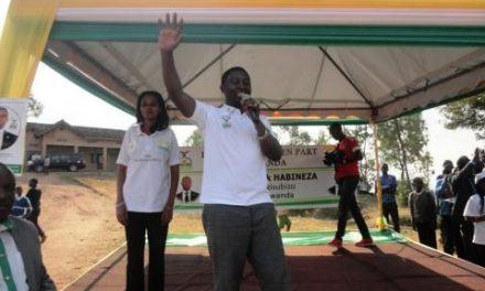 Présidentielle au Rwanda: le Parti démocratique vert en meeting