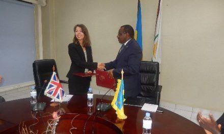 Le Rwanda et le Royaume Uni ont signé un accord de 60 million de pounds