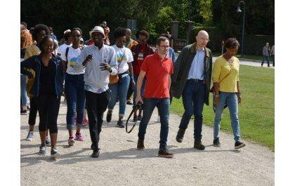 U Bubiligi: Abanyarwanda bongeye guhurira mu rugendo ngarukamwaka rwitwa « Balade Santé »