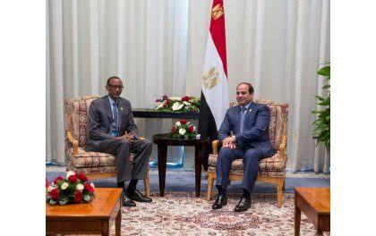 Le Président égyptien Abdel Fattah Al Sissi visite le Rwanda