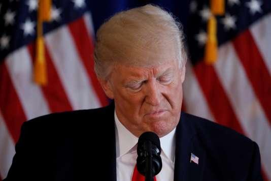Trump maintient la pression sur la Corée du Nord, se dit prêt à frapper