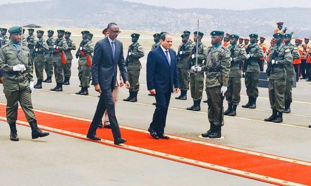 Perezida wa Misiri ageze mu Rwanda