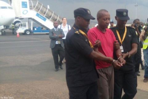 Arrivée au Rwanda d'un suspect de génocide extradé d'Allemagne