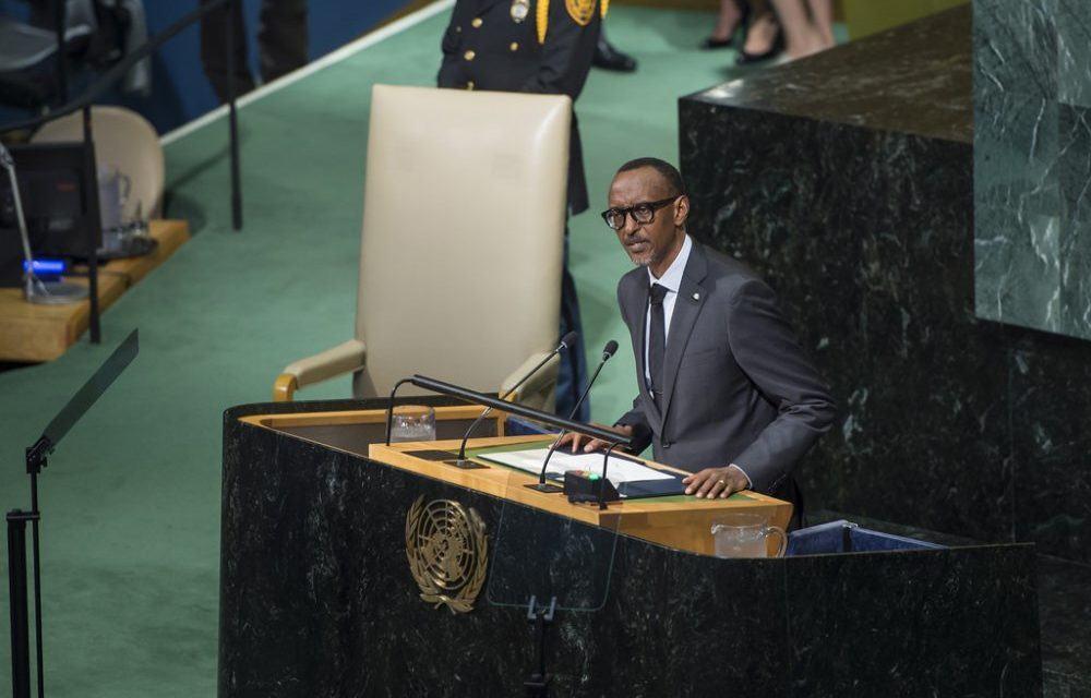 Kagame à la 72 AG prône les changements de gestion des Nations Unies