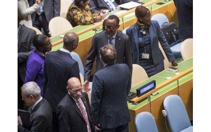 Paul Kagame à l'ouverture de la 72è AG des Nations Unies