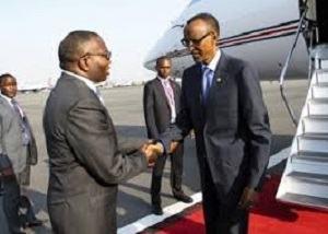 LUANDA : Arrivée du Président Kagame pour l'Investiture du Président Lourenço