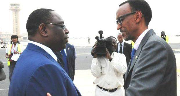Paul Kagamé élu président d'Afrique devant Macky Sall