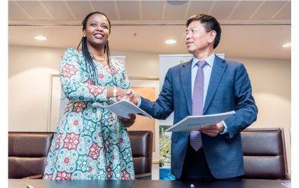 Un Investisseur chinois au Rwanda dans le cuir, l'informatique et la téléphonie
