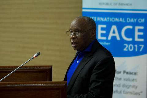 Le Rwanda célèbre la Journée internationale de la paix avec un appel à l'unité et à la réconciliation