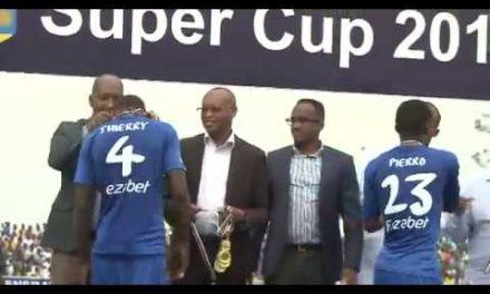 Rayon Sport yegukanye igikombe cya 'Super Cup' mu mukino w'iminota 27