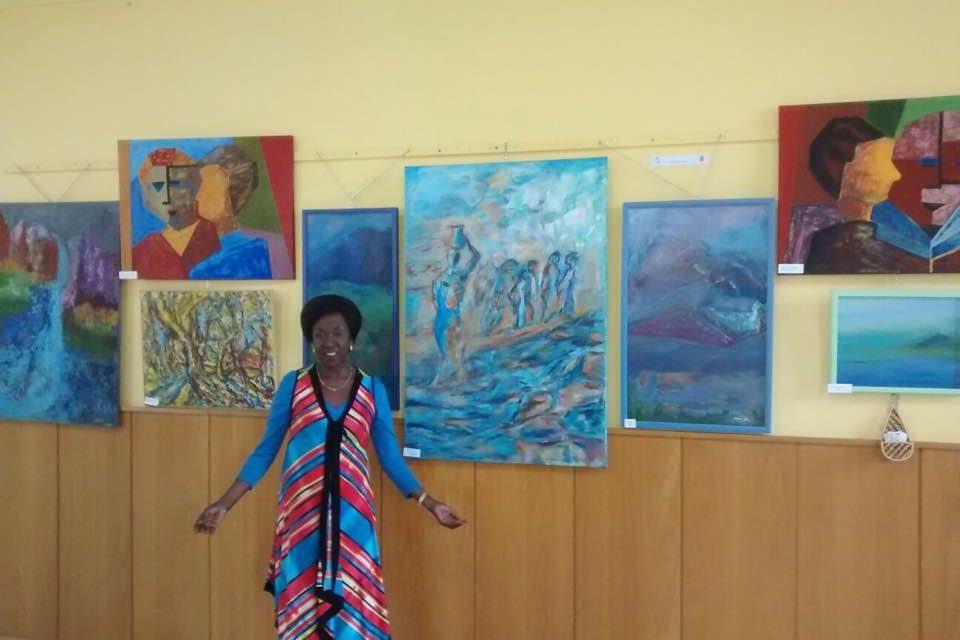 Alexia artiste rwandaise