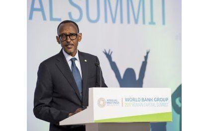Perezida Kagame yagaragaje aho u Rwanda rugeze rwubaka ubushobozi bw'abaturage (Amafoto)