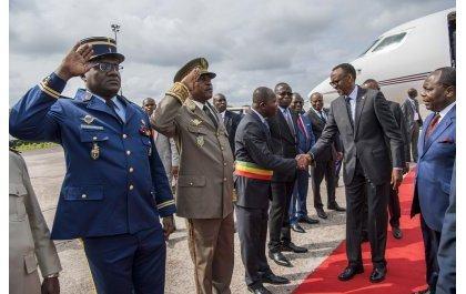 Perezida Kagame i Brazzaville mu nama ya ICGLR (Amafoto na Video)