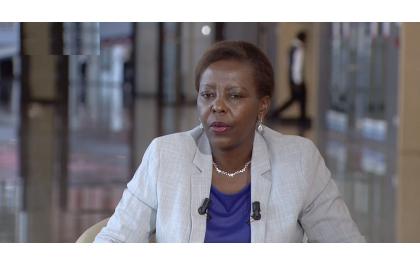 La Ministre Louise Mushikiwabo sur le plateau de TV5 Monde : Démocratie, Justice, Droits de l'Homme, Economie…