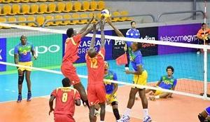 EGYPTE : Les Volleyeurs du Rwanda ont Battu les Tchadiens