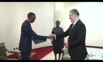Le Président Kagame reçoit les lettres de créance de onze nouveaux ambassadeurs