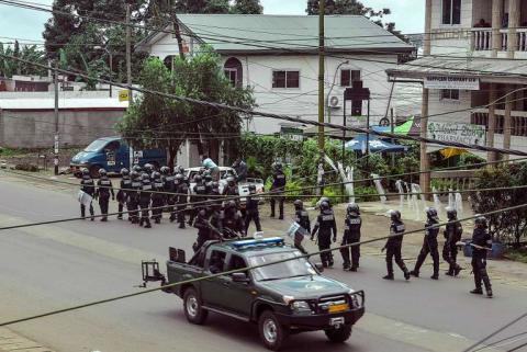 Cameroun : proclamation symbolique d'»indépendance», au moins sept morts lors d'incidents