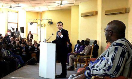 LE DISCOURS HALLUCINANT DE MACRON AU BURKINA FASO