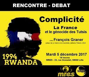 GENOCIDE : Rencontre-Débat le 5 Décembre 2017 à 19h