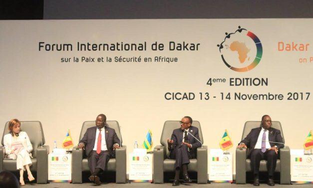 Allocution du Président Kagame à la 4 e édition du forum international sur la paix et la sécurité en Afrique, qui a lieu à Dakar (Sénégal).