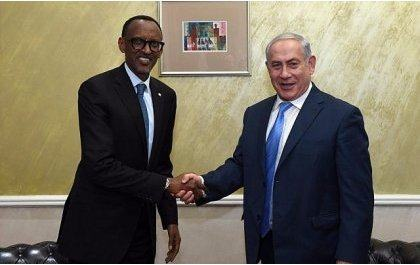 Perezida Kagame na Netanyahu bemeranyije ko Israel ifungura Ambasade mu Rwanda