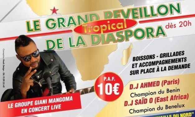 GRAND RVEILLON DE LA DIASPORA 31/12/17