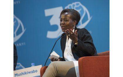 Louise Mushikiwabo au Congrès du «FPR» : «le Rwanda peut être fier et heureux de ce qu'il est devenu aujourd'hui».