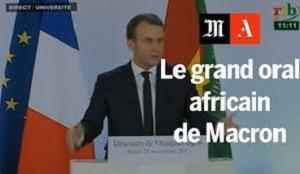 FRANCAFRIQUE : La Poudre de Perlimpinpin du Président Macron en Afrique : «Il n'y a Plus de Politique Africaine de la France», et Autres Illusions.