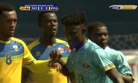 CECAFA: ZANZIBAR VS RWANDA