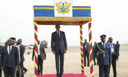 Perezida Kagame yitabiriye inama ku ishyirwa mu bikorwa rya SDGs muri Ghana (Amafoto)