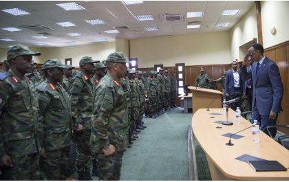 Message de fin de l'année de S.E. Paul Kagame, Président de la République et Commandant en chef des FDR, à la Force de Défense du Rwanda