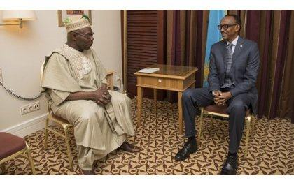 Perezida Kagame yitabiriye inama rusange ya 30 ya AU i Addis Ababa