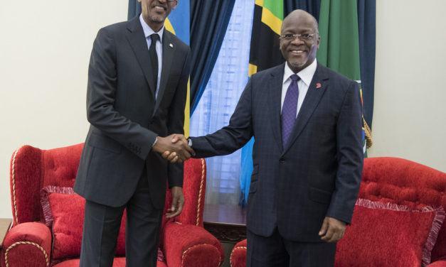 Kagame et Magufuli pour une construction urgente du Chemin de Fer Isaka-Kigali