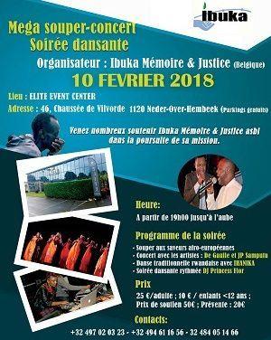 RWANDACULTURE : Invitation Souper-Concert et Soirée Dansante