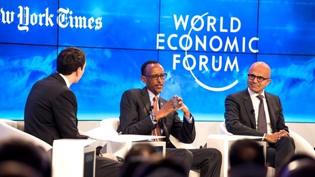 Le Président Kagame au «WEF» (Davos – Suisse) : « Vous ne pouvez pas importer des solutions de l'extérieur, les imposer aux gens et vous attendre à ce cela fonctionnent »