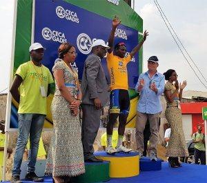 Cyclisme/Tropicale Amissa Bongo : Le rwandais, Joseph Areruya remporte la 4ème étape