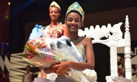 Liliane Iradukunda couronnée « Miss Rwanda 2018 ».