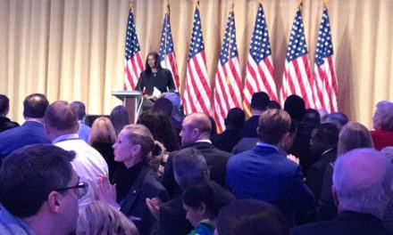 La Première Dame a dirigé une prière lors du « National Prayer Breakfast », en présence du Président Donald Trump (USA – Washington DC)