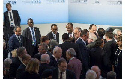 Kagame en Allemagne pour une conférence sur la sécurité dans le monde