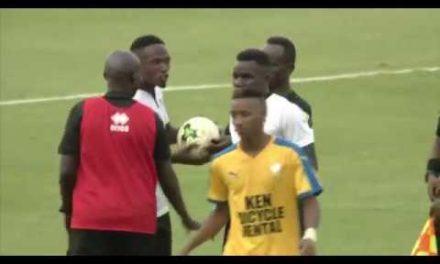 Bizimana Djihad yatsinze ibitego 3 ubwo APR FC yatsindaga Anse Reunion yo muri Seychelles
