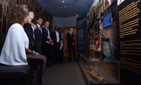 Rwanda: la ministre française des Sports en visite à Kigali