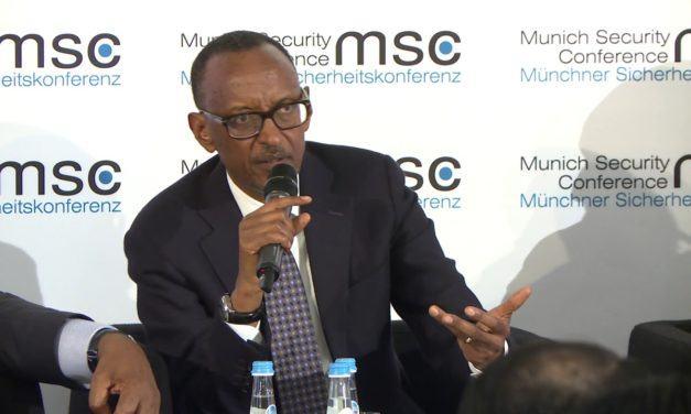 Paul Kagame à Munich – Table ronde sur la sécurisation de la région du Sahel – «… l'utilisation des ressources disponibles pour devenir plus efficaces»