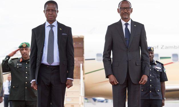 Le Président Zambien, Edgar Lungu, s'est engagé à traquer les fugitifs du génocide qui se trouvent dans son pays