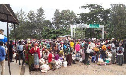 Impunzi z'Abarundi zirenga 2500 zavuye muri RDC ziza mu Rwanda